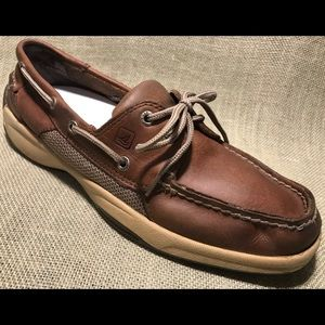 Men's Sperry Top-Sider Leather Boat Shoe